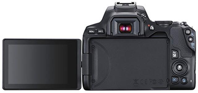画像: バリアングル液晶を搭載したAPS-C一眼レフとして世界最軽量となる449グラムを達成。ふだん使いのカメラとしての熟成度は非常に高い。