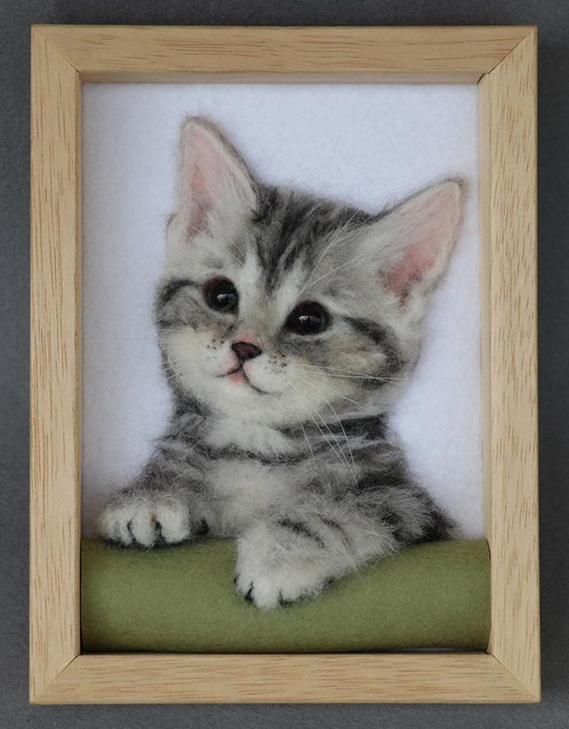 画像: ★中山みどり講師による愛猫・愛犬の額入りレリーフ作り