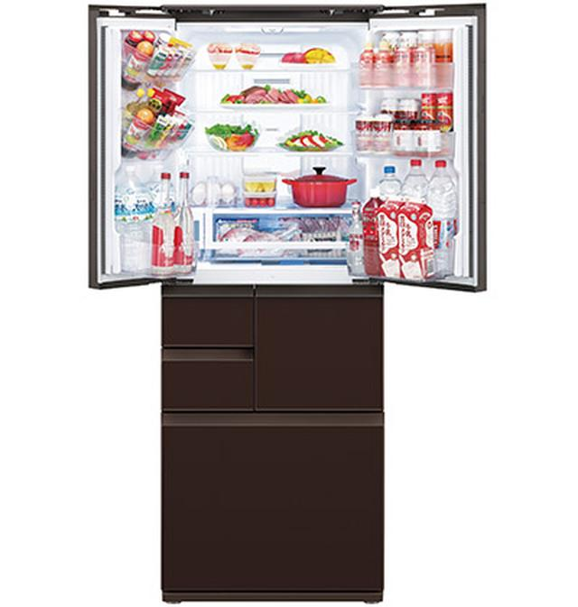 画像: 「COCORO KITCHEN」対応のヘルシオやホットクックとの連係が可能。料理の利便性がよりアップする。 ◀︎写真は SJ-GA55E (実売価格例:29万7050円)