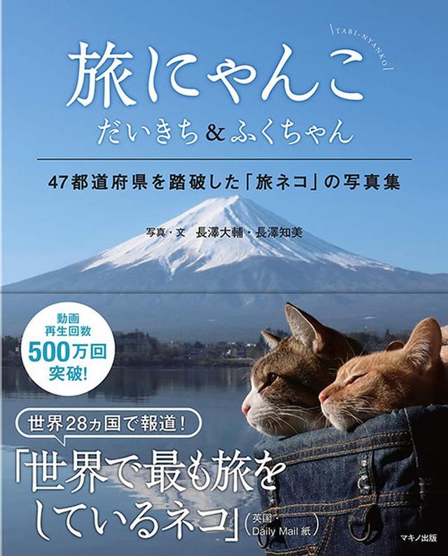 画像: 氷点下の阿寒湖で保護された「だいきち」と新宿の公園に置き去りにされた「ふくちゃん」による日本再発見の旅。世界28ヵ国で報道され、動画再生回数500万回を突破したいま話題の2匹が47都道府県をめぐる写真集。 amzn.to