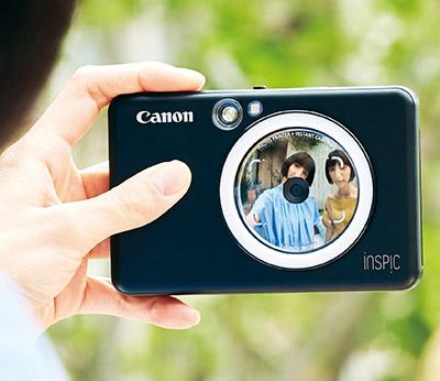 画像2: 【キヤノン iNSPiC ZV-123】を実写レビュー!自撮りが楽しくなる多機能インスタントカメラ