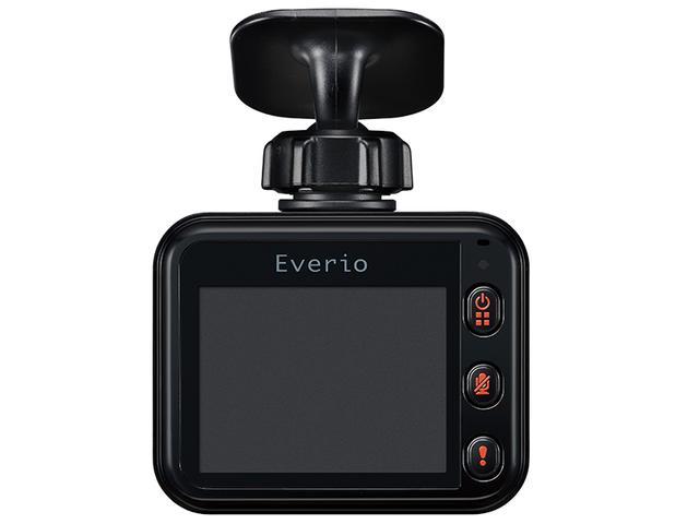 画像2: 録画映像をスマホに転送できる無線LAN内蔵の薄型ドラレコ