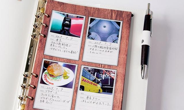 画像: 専用のペーパーは、裏面がシールになっているので、アルバムやシステム手帳などに貼り付けて楽しむことも可能。アスペクト比は、3対2のほか、真四角プリントも選べる。