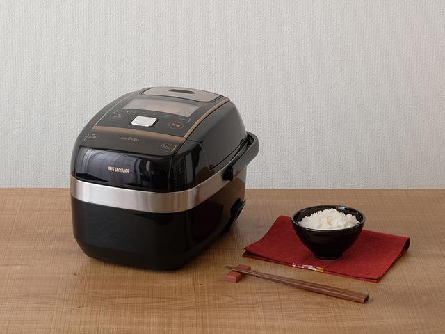 画像: 銘柄に合わせて炊き方や水量を調整する「量り炊きモード」を搭載