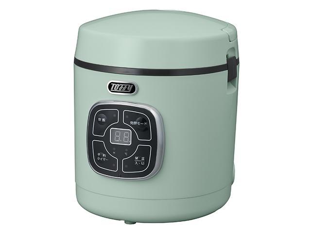 画像2: 少量のご飯を短時間で炊けて料理も作れる小型マイコン炊飯器