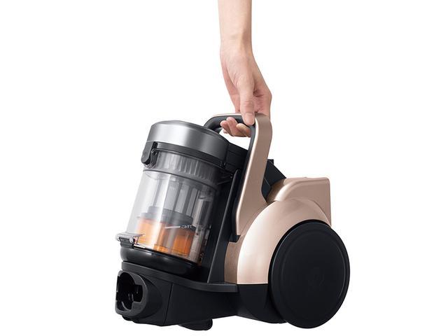 画像: 軽量ボディと強力パワーで快適に利用できるサイクロン掃除機