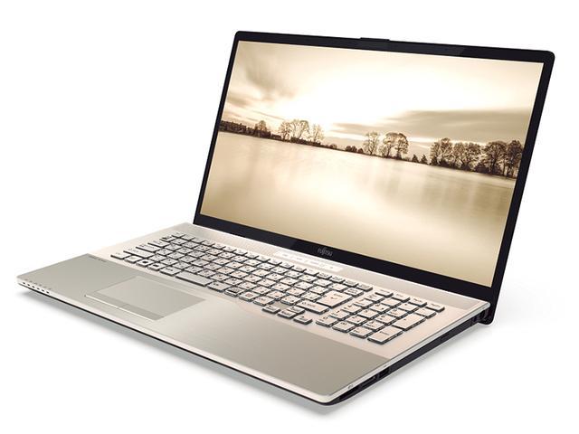 画像: フルHD解像度の17.3型ディスプレイを備えた大画面ノート。CPUには第9世代のCore i7-9750H、メモリーは8Gバイト、ストレージは256GバイトのSSDと1TバイトのHDDを搭載。サイズは幅398.8ミリ×高さ26.9ミリ×奥行き265ミリ。重量は2.9キロ。また、Core i3プロセッサーを採用するなど、一部スペックが異なる下位モデルも用意している。
