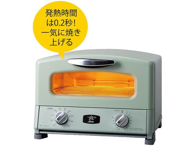 画像: 100~280℃まで温度調整可能。ふたができるグリルパン付属で「焼く/煮る/蒸す/炊く」などあらゆる調理ができる万能トースターだ。