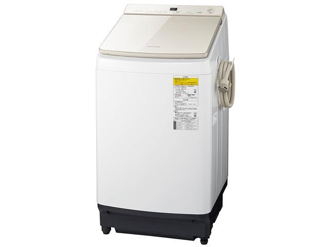 画像: 泡による洗浄と豊富な水流で汚れ落ちにも定評。洗濯槽が手前の低い位置にあり、出し入れもしやすい。