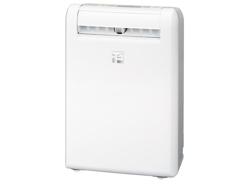 画像: MJ-M120PXは、洗濯物の位置や量、状態を三つのセンサー(赤外線・温度・湿度)で細かく検知。送風範囲を自動で認識する。