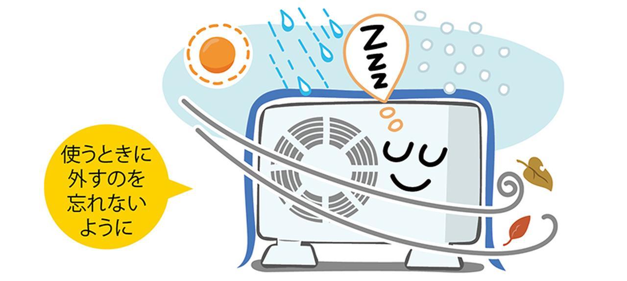 画像8: 【エアコン選び&使い方】室外機の掃除は必要?サーキュレーターは夏と冬で使い分けよう