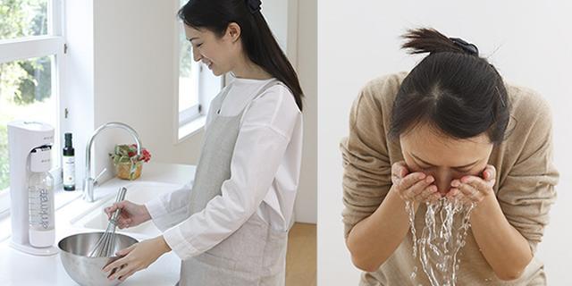 画像: 料理やスキンケア、洗髪にも。 www.drinkmate.jp