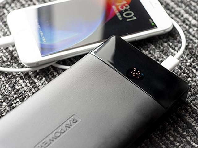 画像: 1%刻みでバッテリー残量が確認できる。急速充電中には「急速充電マーク」が表示される。 www.sunvalley.co.jp
