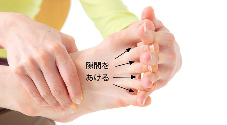 画像1: 足指のばし(ゆびのば体操)のやり方