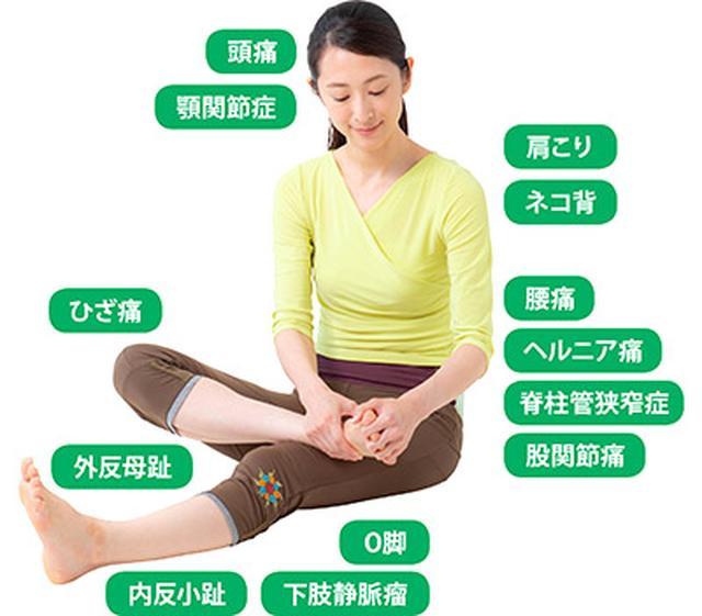 画像: 足指のばし(ゆびのば体操)は全身の不調に効く