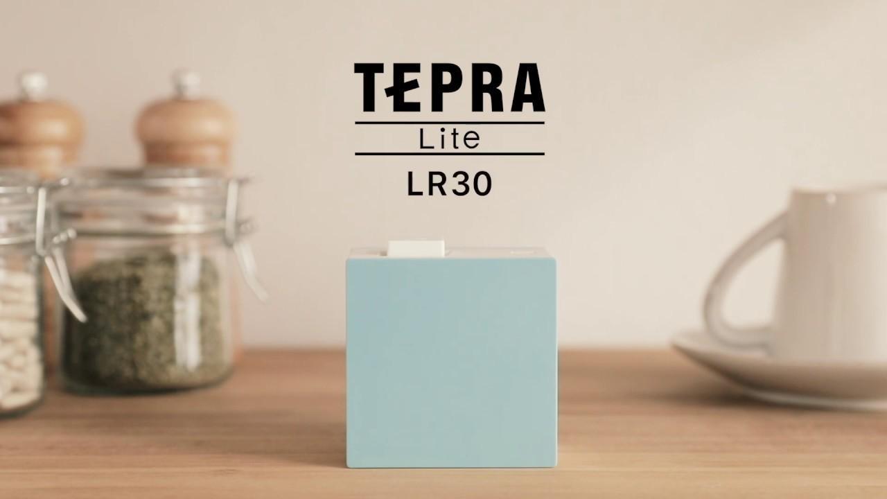 画像: 「テプラ」Lite LR30 紹介動画 youtu.be