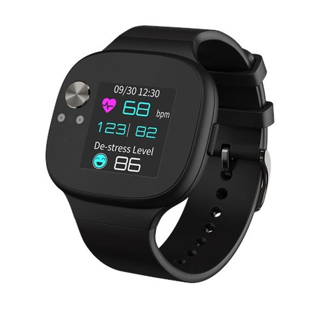 画像2: GPSセンサー内蔵で移動距離、心拍数、消費カロリーも表示