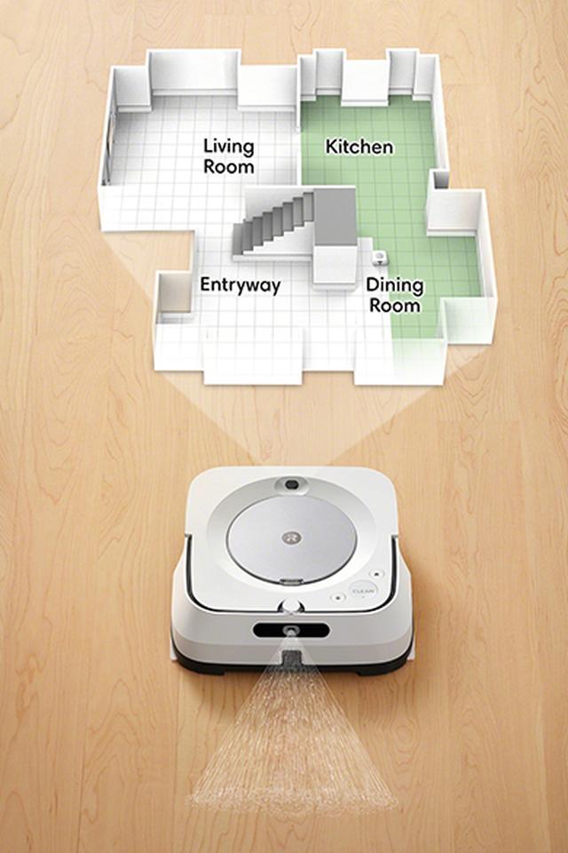 画像: 【水拭きロボット】ブラーバ ジェットm6がルンバi7と連係! 掃除を「人」がやる時代は終わるのか