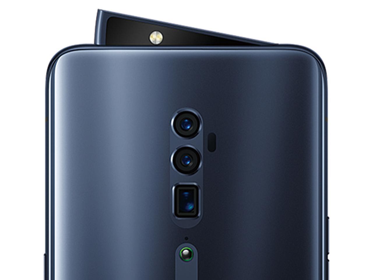 画像: インカメラおよびアウトカメラ用のフラッシュは、ピボットライジング構造により、使うときだけ自動で出てくる仕組み。