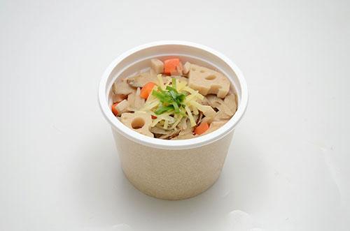 画像: 商品①「根菜たっぷり!10品目の生姜スープ」