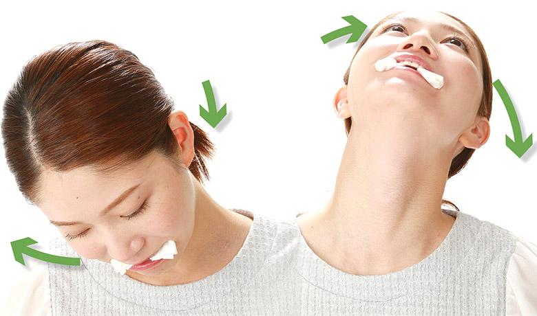 画像5: めまいと同時に首コリ・肩こりが起こる理由とは?歯科医が勧める「カチカチ体操」のやり方