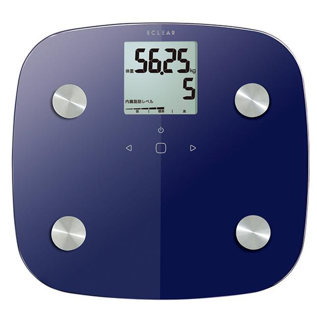 画像3: 【エレコムの体組成計】内蔵脂肪をより正確に測定!筑波大と共同開発した最新型体重計「HCS-FS01」