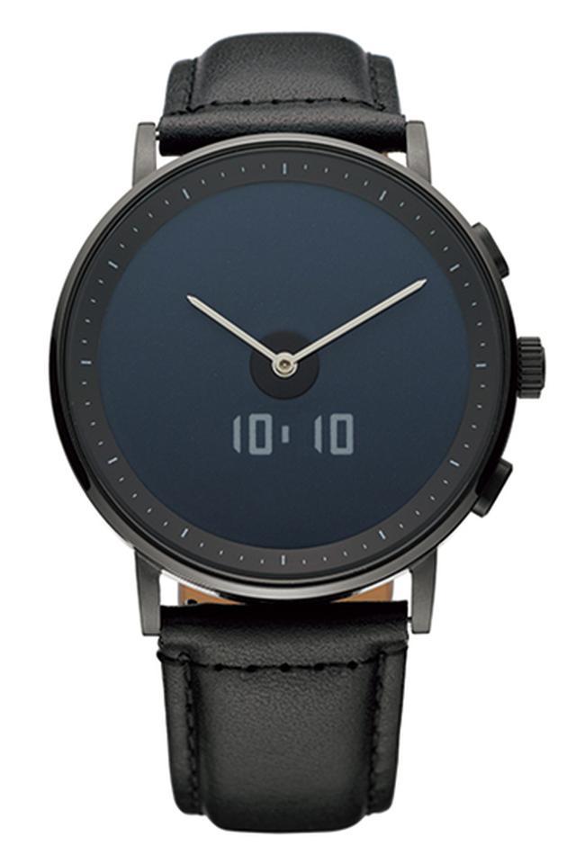 画像1: 【GLAGOM ONE】電子ペーパーディスプレイにアナログ時計を組み合わせたシンプルなスマートウォッチ