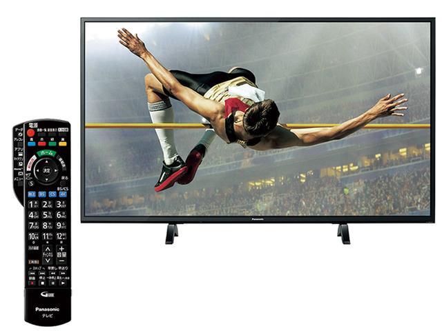 画像: 4K放送用チューナーを内蔵したスタンダードクラスの4Kテレビ