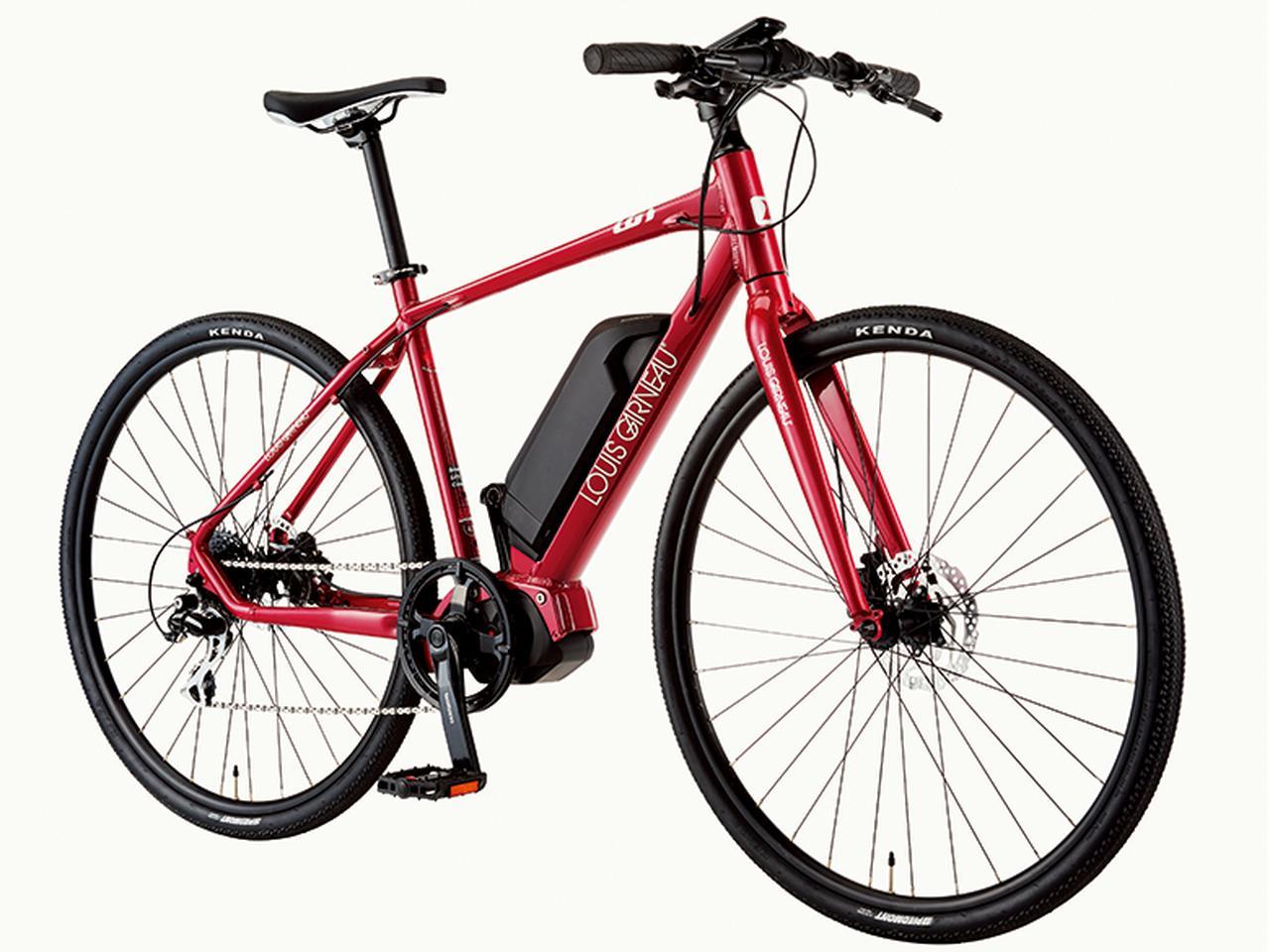 画像: 初心者でも快適な走りが楽しめるクロスバイクタイプのe-bike