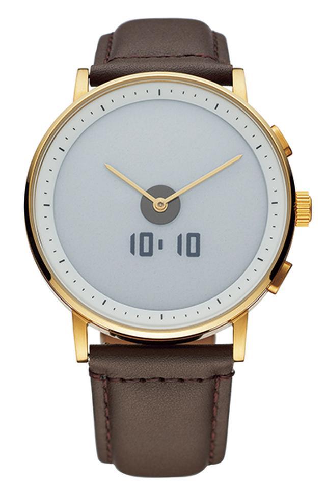 画像2: 【GLAGOM ONE】電子ペーパーディスプレイにアナログ時計を組み合わせたシンプルなスマートウォッチ