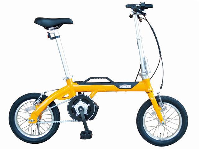 画像1: 13.2キロの軽量ボディを実現した折り畳み式のアシスト自転車