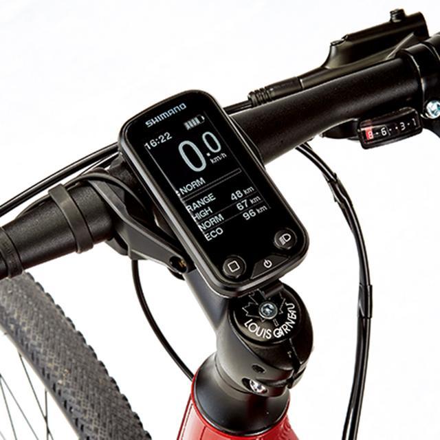 画像2: 【ルイガノ AVIATOR-E】 初心者でも快適な走行が楽しめるクロスバイクタイプのe-bike