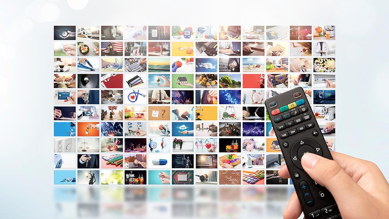 画像: NetflixとAmazonプライムビデオの配信コンテンツの比較