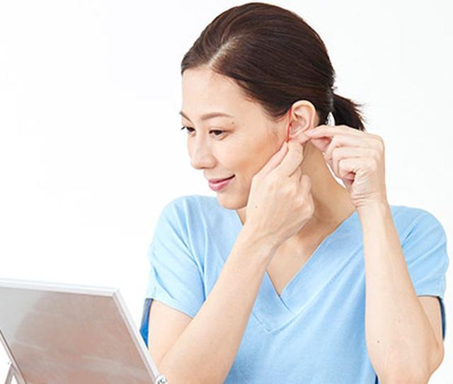 画像2: 【さとう式リンパケア】耳に輪ゴムをかけるだけで小顔を作る「耳輪ゴム」のやり方