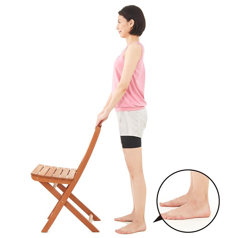 画像1: 【ゴースト血管を改善】ふくらはぎへの刺激が効果 かかと上げで老化スピードをゆるやかにしよう!