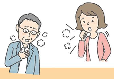 横 に なると 咳 が 止まら ない 対処