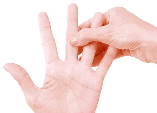 画像2: 【逆流性食道炎のツボ】わずか1分でつらい胸やけを改善する「中指」の反射区と押し方