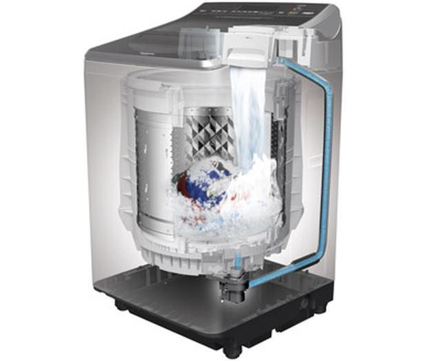 画像10: 縦型洗濯機のおすすめは?シャープやパナソニック、アクアなど人気の6機種を徹底比較。新しい機能も続々追加