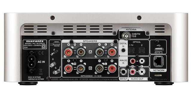 画像: アンプは4チャンネル内蔵。より高音質化が期待できるバイアンプやBTL接続も可能。