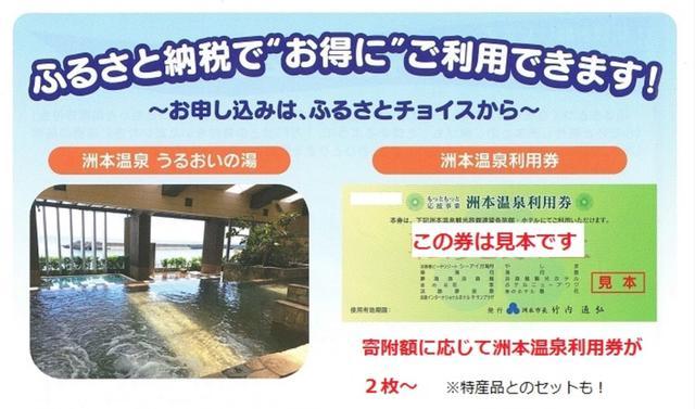 画像: ふるさと納税ポータルサイトにより、掲載されている返礼品は多少異なる www.city.sumoto.lg.jp