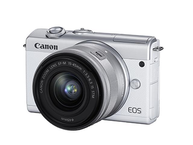 画像1: キヤノンの最新ミラーレス「EOS M200」が登場!高画質な画像をSNSで共有したいスマホユーザーに最適