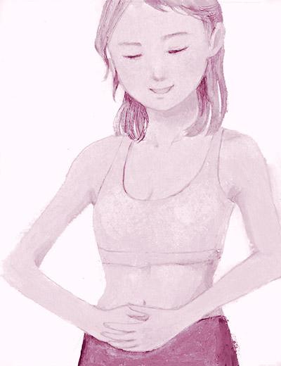 画像: 腸をもむと血液の質や血流がよくなる