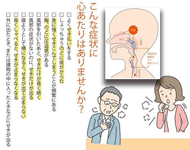 画像: 【咳が止まらない時の対処法】痰も出る長引く咳は「鼻の炎症」が原因のことも - 特選街web