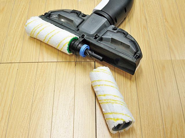 画像: ローラーは簡単に着脱可能。洗って乾かせば、繰り返し使用可能。