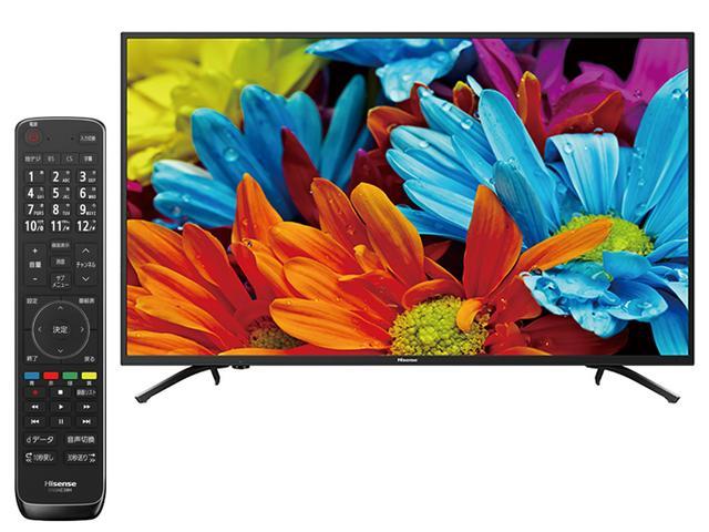 画像: 高コントラストの映像が楽しめる普及価格の4K液晶テレビ