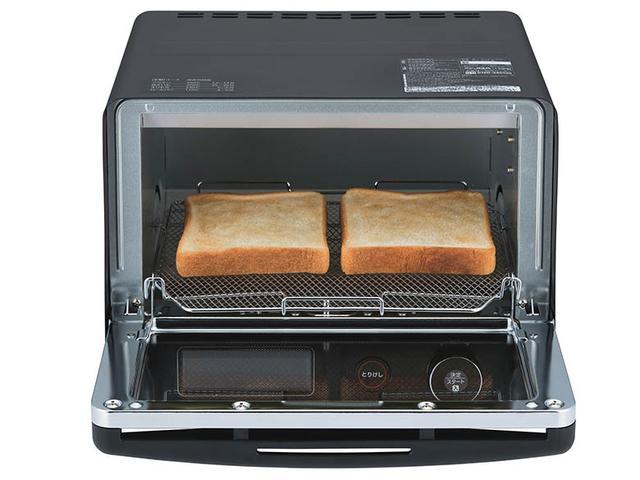 画像2: 上下のヒーターを切り替えながら加熱するオーブントースター
