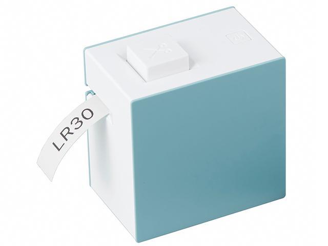 画像1: スマホと無線接続して使用する手のひらサイズのラベルプリンター