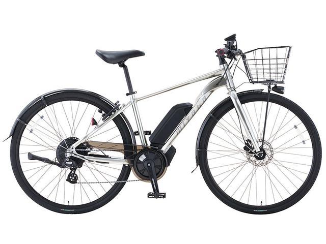 画像1: 軽快なアシスト走行が楽しめるシティサイクルタイプのe-bike