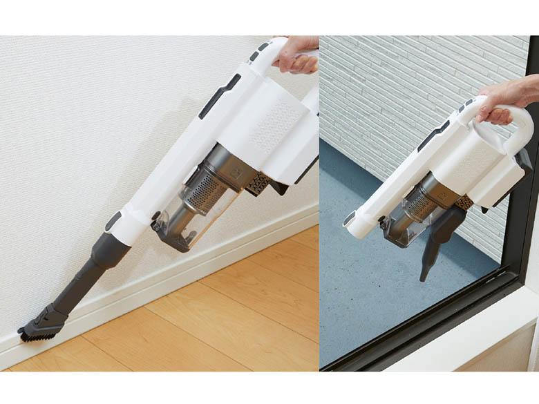 画像2: ハンディ掃除機やエアーブロワーとしても使えるスティック掃除機