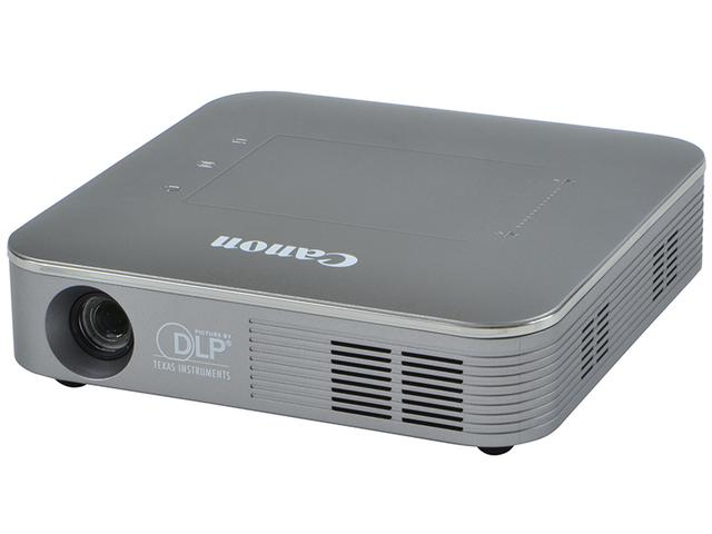 画像1: ウエブページを単体で投映できる軽量設計のミニプロジェクター